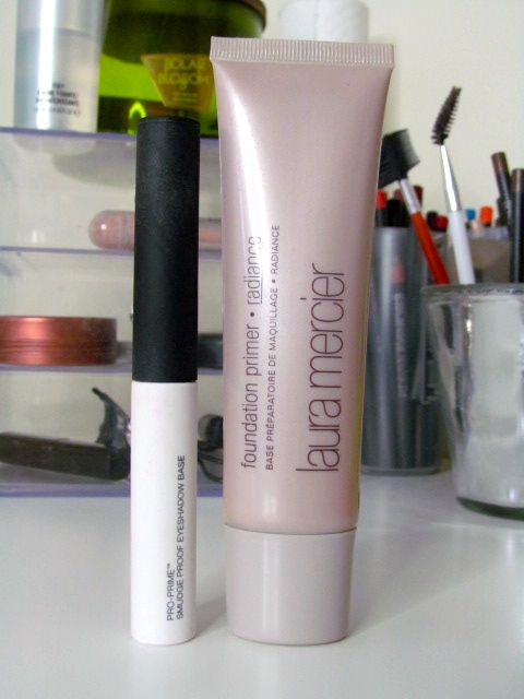 NARS Pro-Prime Smudge Proof Eyeshadow Base Laura Mercier Radiance Foundation Primer