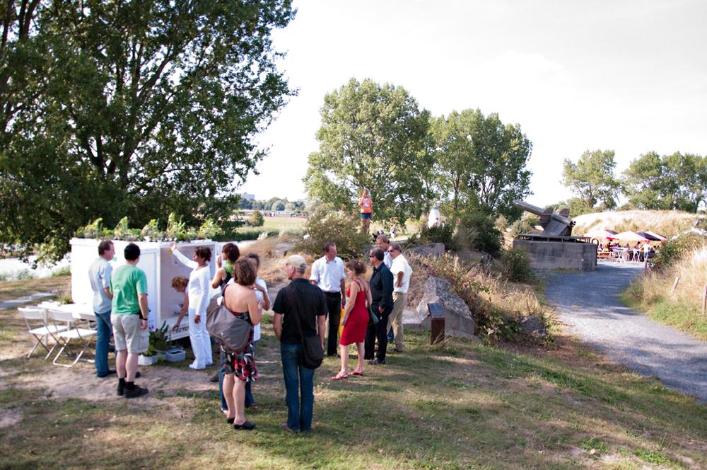 Zondag 23 augustus 2009 opent bij Kunstfort Vijfhuizen de tentoonstelling Trailer-Park, met als hoofdthema mobiele kunstprojecten.