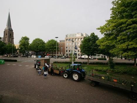 Uiteindelijk komen we terecht bij het Musis theater midden in het centrum van Arnhem.