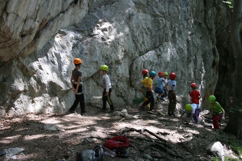 Plezalni tabor za otroke