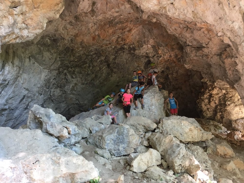 Plezalni tabor za otroke Grif