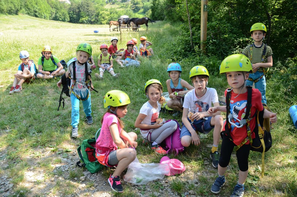 Plezalni izlet za otroke