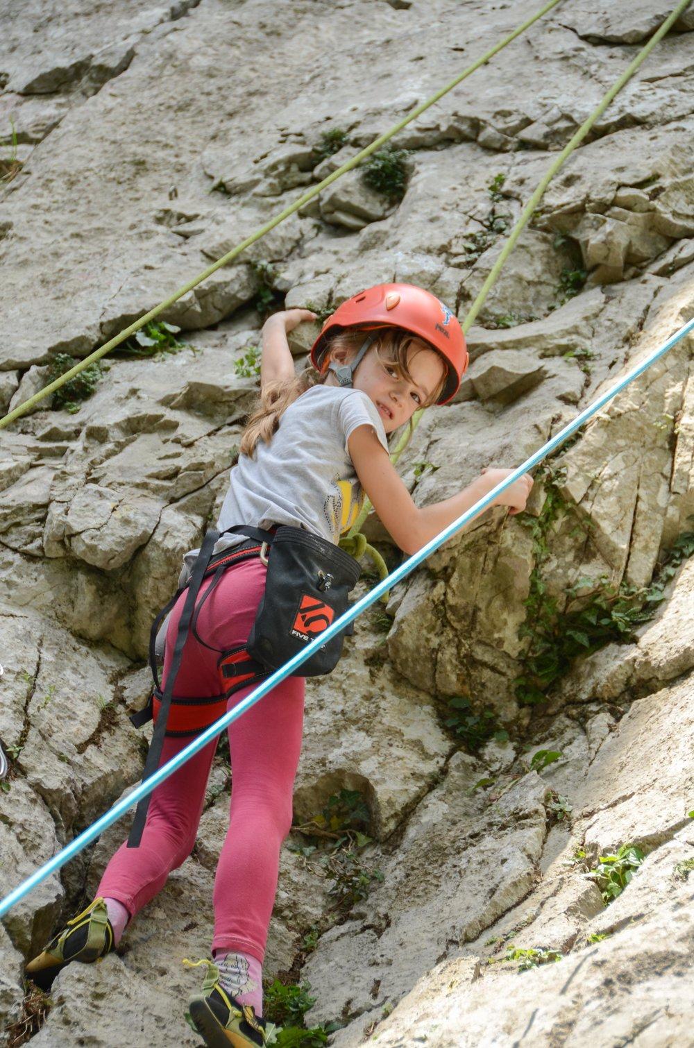 Plezalna šola za otroke Grif