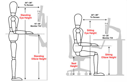 10 Tips For A Healthy And Ergonomic Workplace NCA Studio