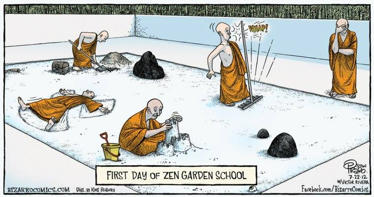 The Zen Garden School