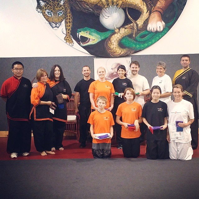 Monk Wise Martial Arts Academy Taiji Students, 8-23-14
