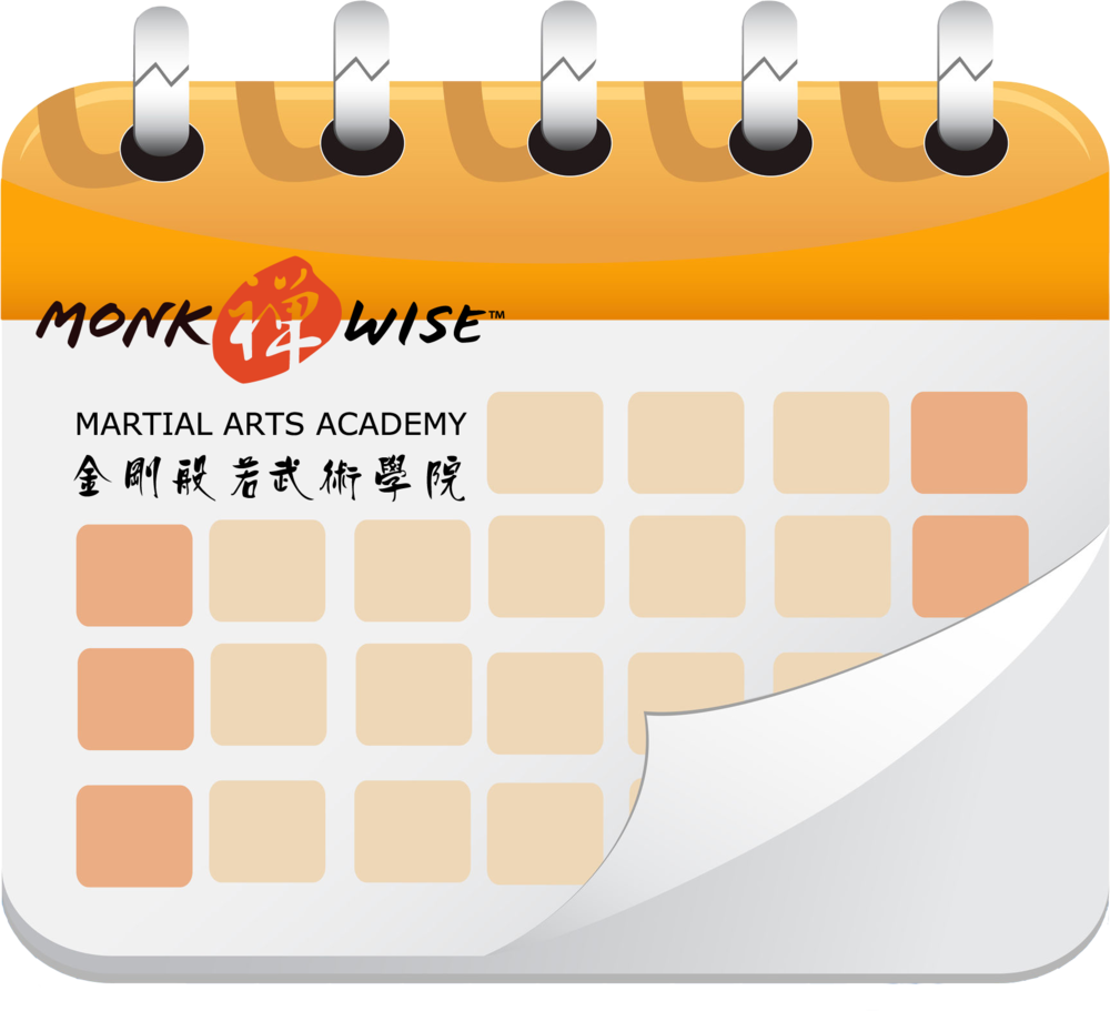 Monk Wise Calendar Icon 4web