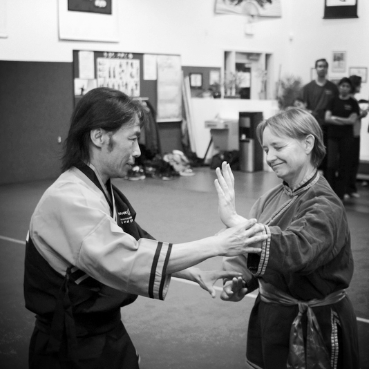 Master Su Tong Yu with Janet Hough of Monk Wise