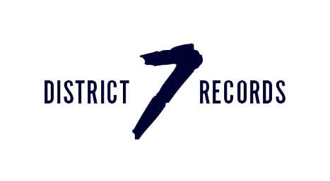 District 7 Records Logo