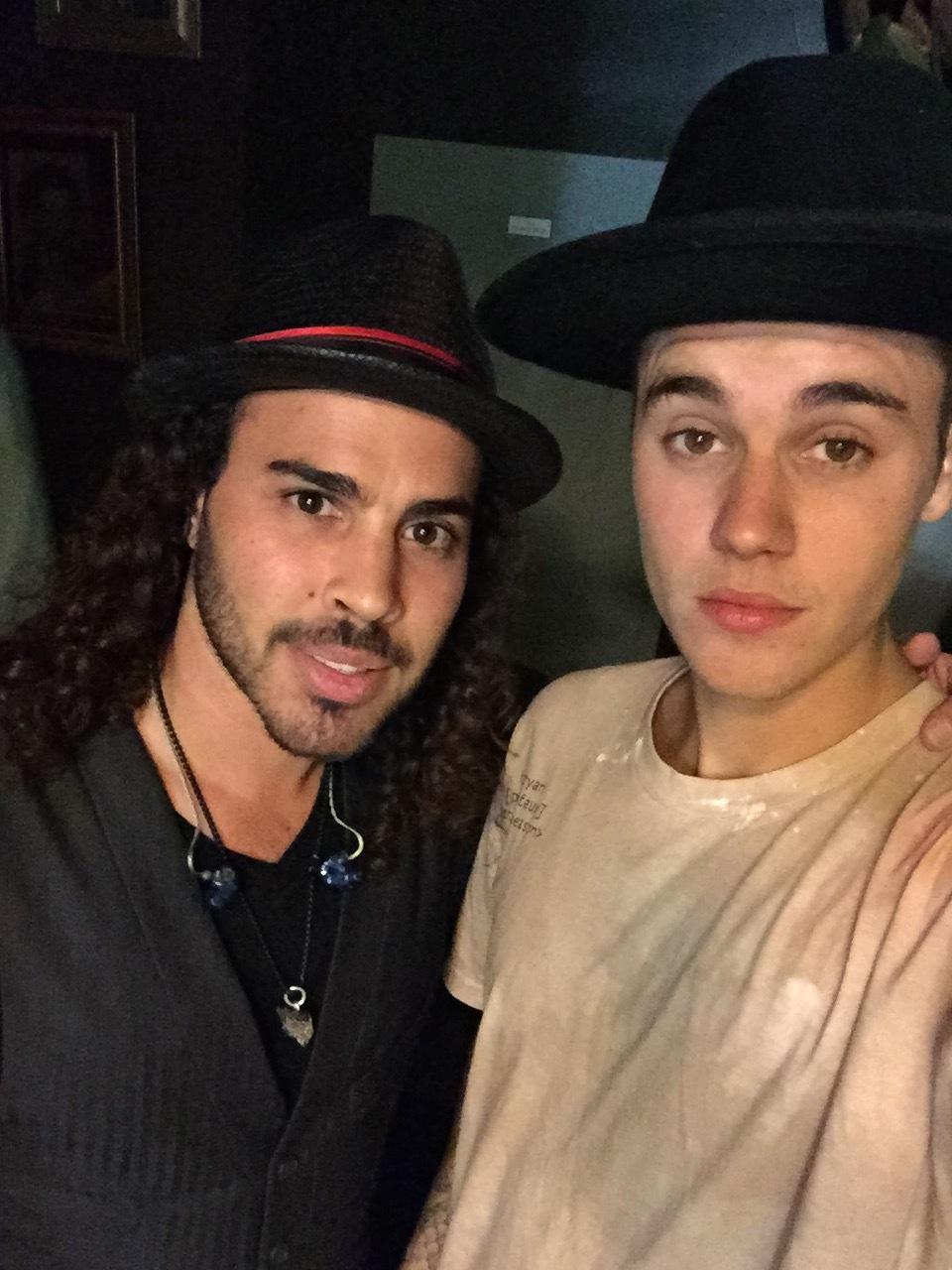 Patrick Sieben & Justin Bieber