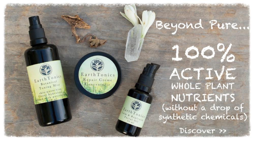 Beyond Pure . EarthTonics Botanical Skin Care