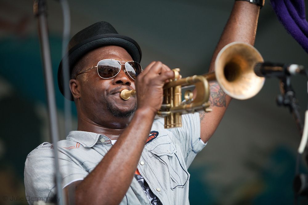 Jazz Fest musician, Brice Miller