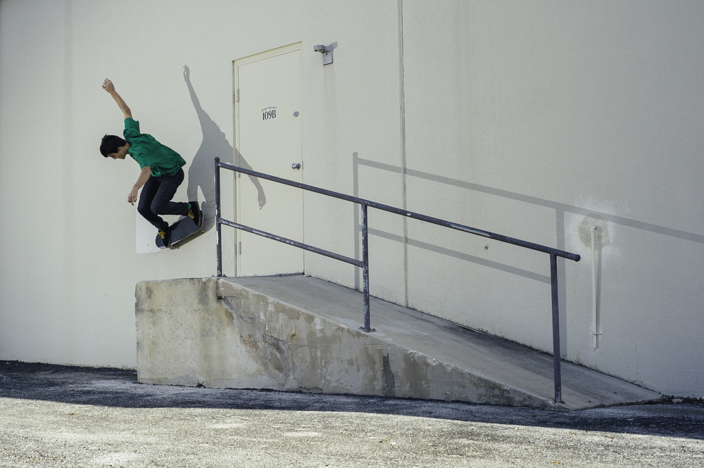 Zak Anders- Gap Wallride