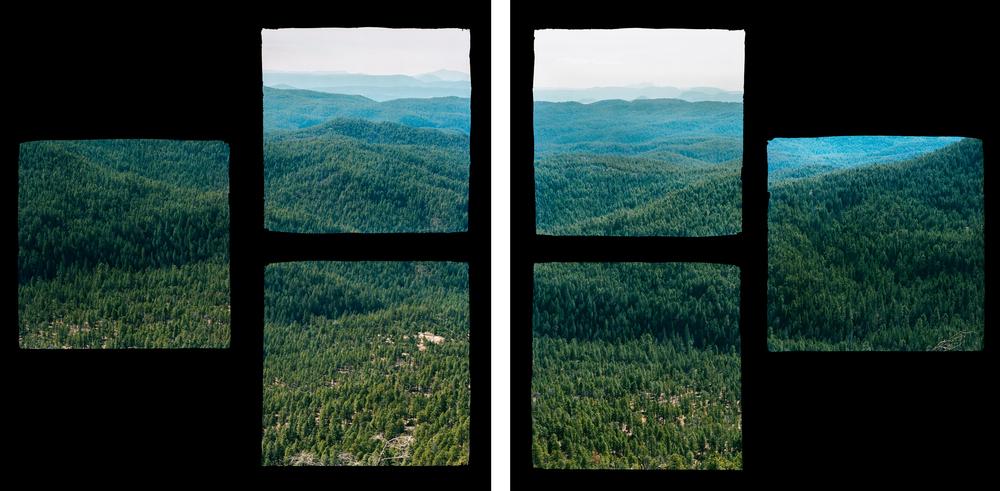 Fragmented Landscape #1 & #2