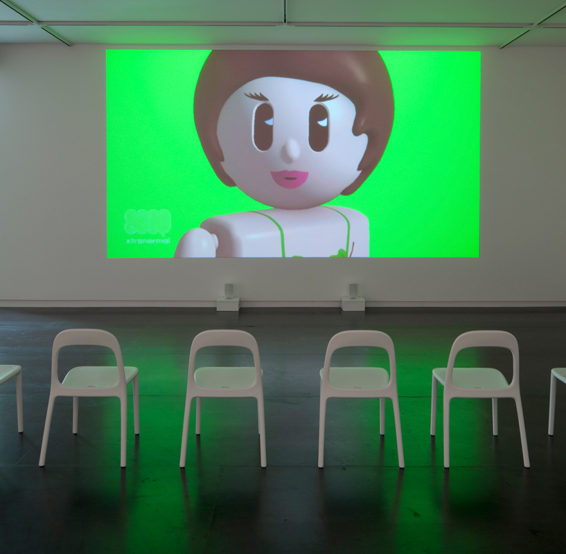 Frances Stark's My Best Thing at Upfor, courtesy Gavin Brown's enterprise.