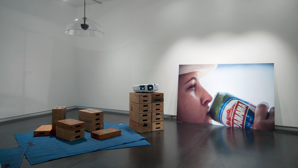 PANAMA , 2014 (installation view) digital print on Dibond, 1/1 60 x 84 inches