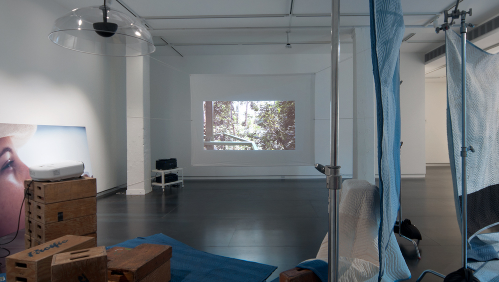 Based on, If Any , 2013 (installation view) digital HD video, edition of 5 total run time 17:43