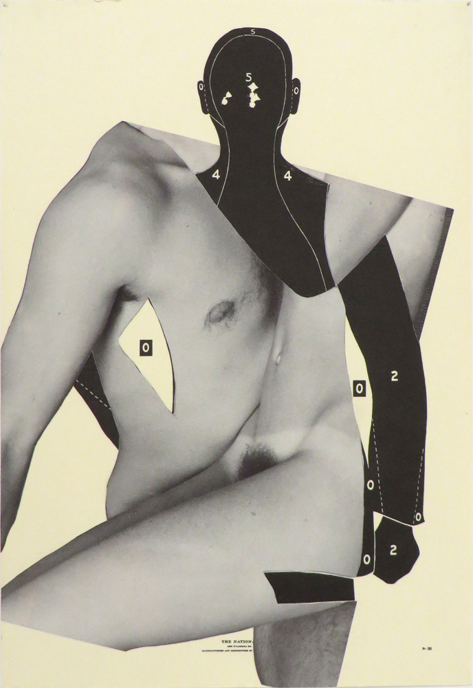 Anne Doran   Untitled , 1990 collage, 9.75 x 6.75 inches shown courtesy Invisible-Exports, NY