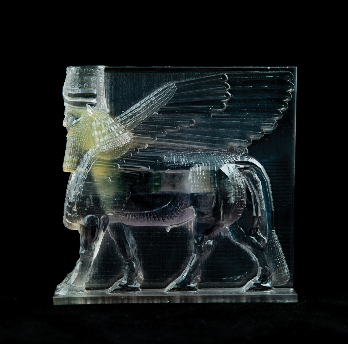 Lamassu  3D printed plastic and electronic components