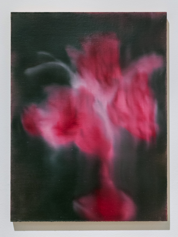 Wedding Bouquet (8) , 2013 - 2014 oil paint on linen mounted on panel 16 x 12 inches