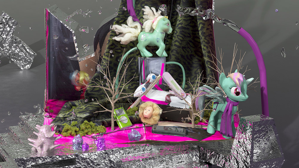 Still Life with My Little Pony  (detail), 2014