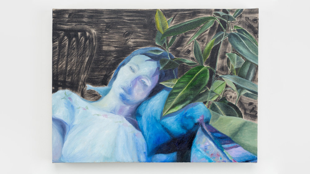 Nap , 2017 oil on linen 15 x 20 inches