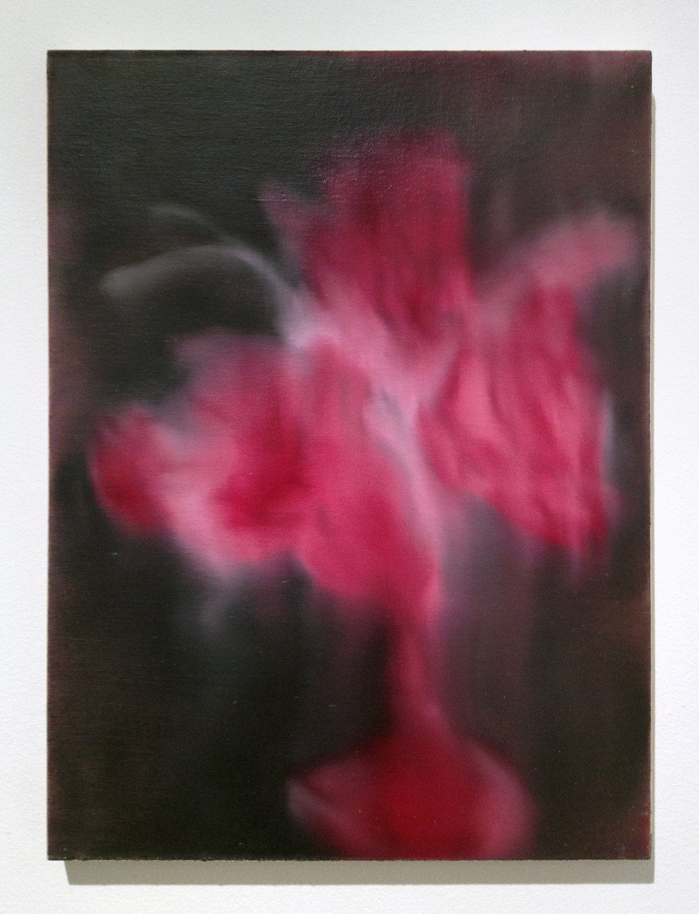 Wedding Bouquet (8) , 2013 – 2014 oil paint on linen, mounted to wood panel 16 x 12 x 1 inches