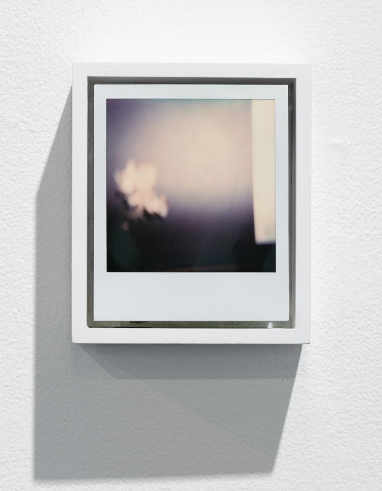Diamond debris , 2018 Polaroid, wood, paint 5.125 x 4.375 x 13.625 inches (13 x 11 x 4 cm) SOLD