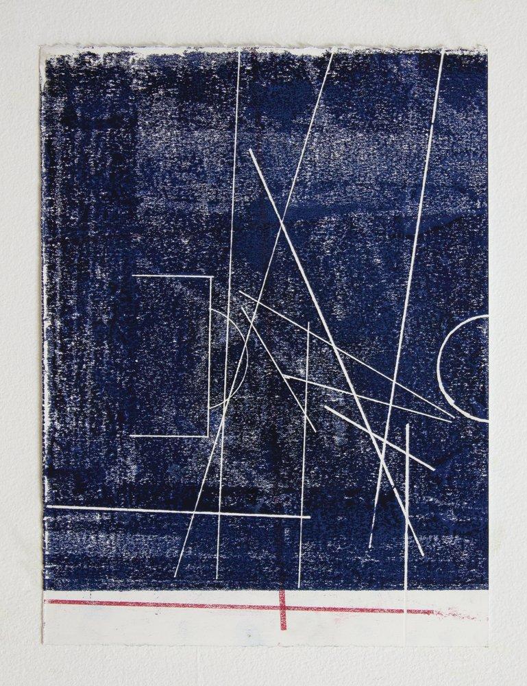 every measure of zero (cancha de nazca) , 2018 wax on paper 13 x 9.5 in (33 x 24.1 cm) unframed  17 x 14 in (43 x 35.5 cm) framed