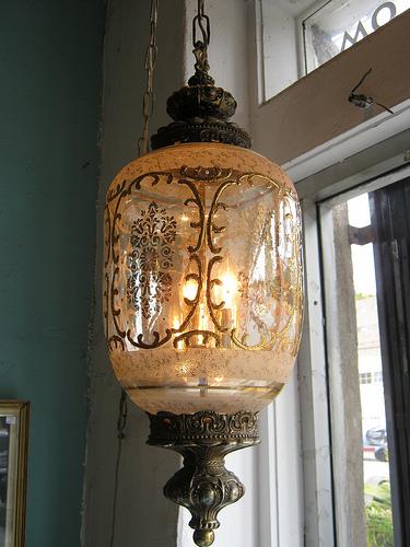 sold swag hanging lamp set casa victoria vintage furniture los