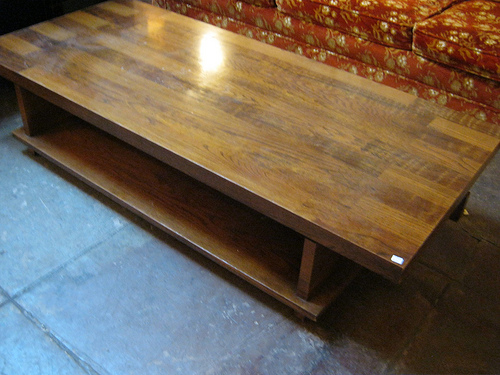 Large Coffee Table By LANE Furniture This is a mid century designed table  by LANE with a unique design to the top. - Large Coffee Table By LANE — Casa Victoria Vintage Furniture Los Angeles