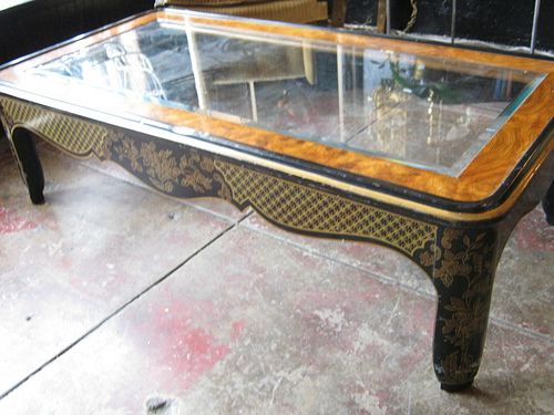vintage drexel asian style coffee table — casa victoria vintage