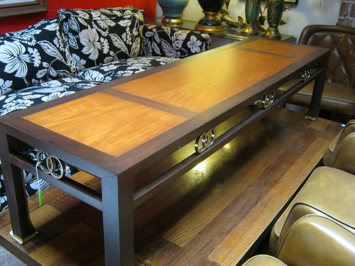 Michael Taylor Coffee Table for Baker Furniture Casa Victoria