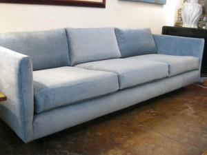 Reupholstered Sofa from Casa Victoria LA