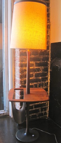 Floor Lamp Magazine Table