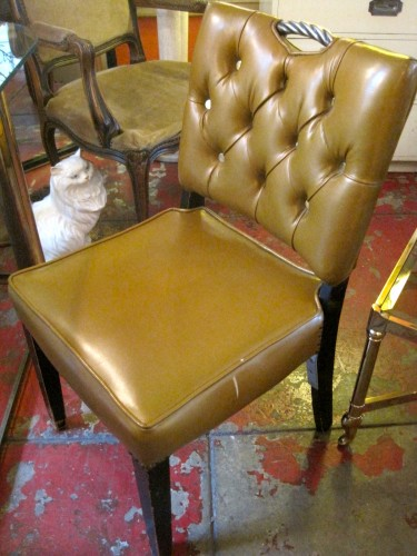 50s Mustard Chair