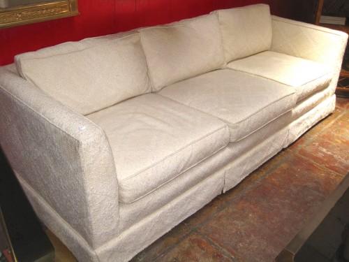 White Tuxedo Couch