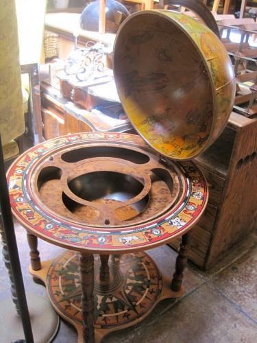 Horoscope Happy Hour Vintage Globe Bar On Casters Casa
