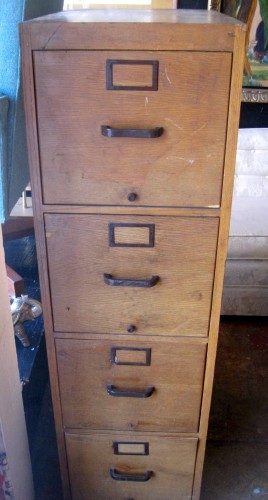 Genial ... Cincinnati Is Best Known For Their High End Bookcases, Desks, And Other  Office Furniture. Go Ahead, Class Up Your Office. This Vintage File Cabinet  Has ...