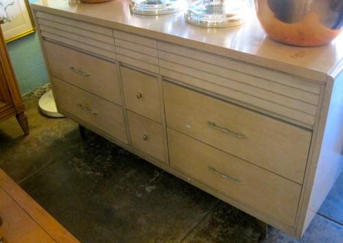 Midcentury Dresser Blonde Wood