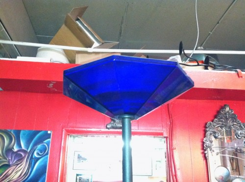 Cobalt Blue Floor Lamp