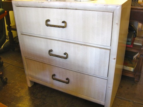 1970s Faux Bamboo Mini Dresser
