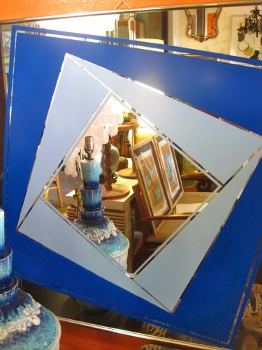 70s Geometric Mirror