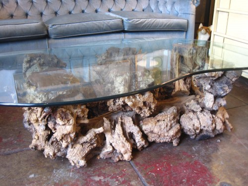 Wood Tree Table