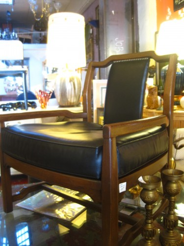 Set of Two Low Back Club Chairs