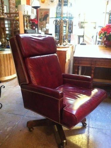 Stupendous Sold All Work No Play Vintage Leather Executive Chair Gamerscity Chair Design For Home Gamerscityorg