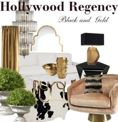 Hollywood Regency Cheat Sheet