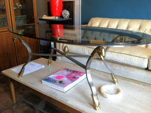 rams head coffee table
