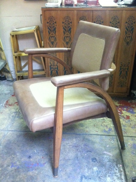 mid-century office chair