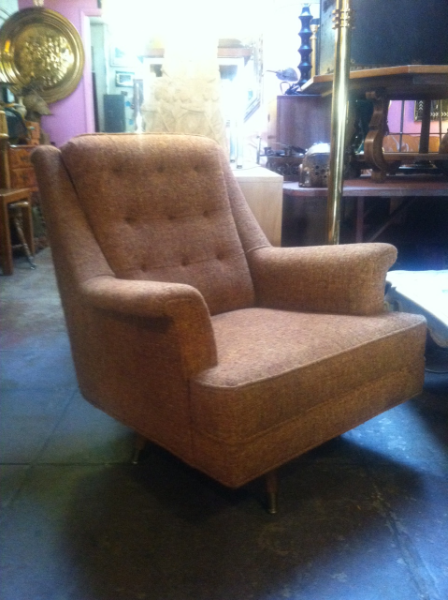 tweed easy chair